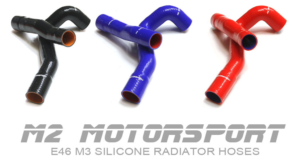 BMW 3 SERIES E46 6 CYLINDER SILICONE RADIATOR HOSE KIT