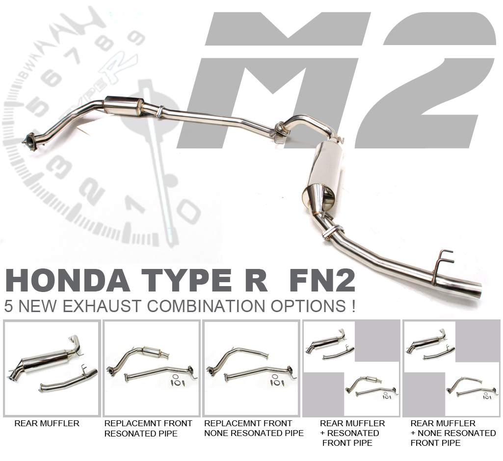 M2 MOTORSPORT FN2 EXHAUST SYSTEM