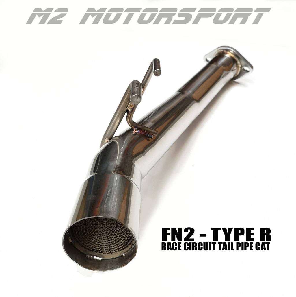 FN2 CIVIC TYPE R   - RACE TRACK CAT TAIL PIPE | M2 MOTORSPORT / M2-HD-FN2-CT
